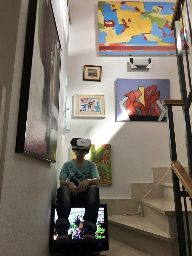 """False Memories - Montaje expuesto en """"Feria de Arte en mi casa (FAC III)"""""""